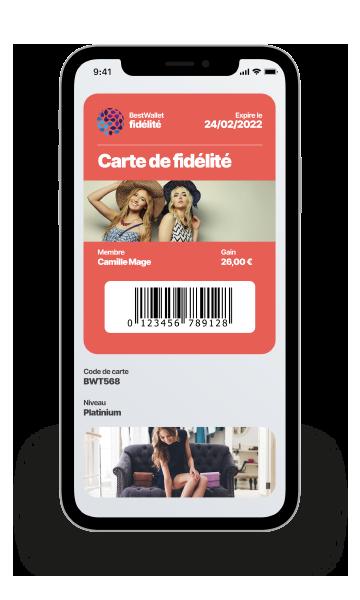 Programme de fidélitéDématérialisez votre programme de fidélité en 1 clic ! Boostez le trafic en point de vente ou sur le web grâce à des campagnes digitales performantes.